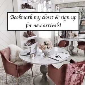 COMMENT to sign up for New Arrivals